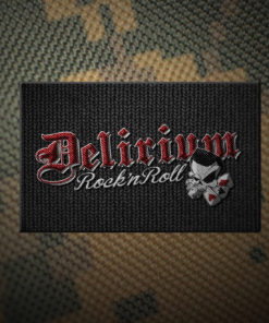 Delirium Rock n Roll Patch